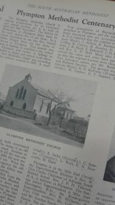 Plympton Methodist Church - from The South Australian Methodist - 11 November 1947